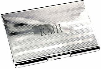 Accessories Silver Engravable Business Card Case