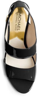 Michael Kors Rochelle Patent Sandal