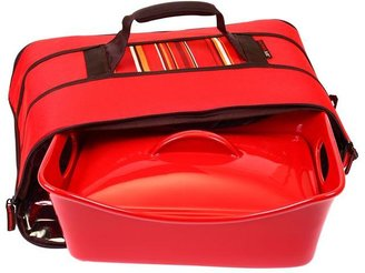 Rachael Ray 3.5-qt. Covered Baker with Insulated Carrier, Red
