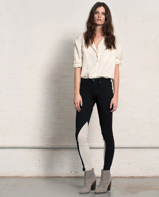 Rag and Bone Jodhpur - Black/White