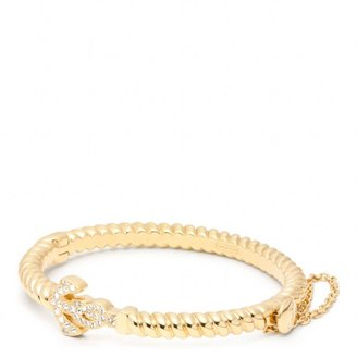 Coach Anchor Rope Hinged Bracelet
