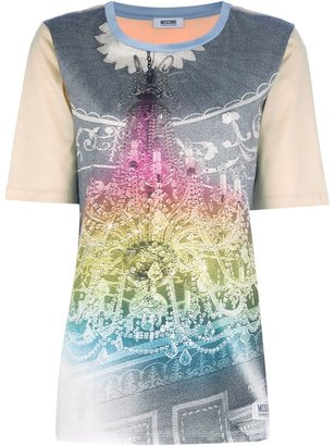 Moschino Cheap & Chic Graphic chandalier t-shirt