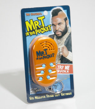 Fred Flare Mr. T In Your Pocket