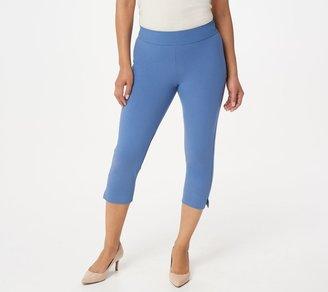 Women With Control Women with Control Contour Waist Pull-on Capri Pants