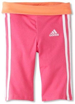 adidas Girls 2-6x Iconic Workout Capri
