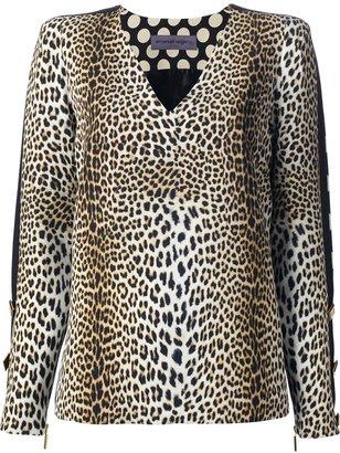 Ungaro multiprint blouse