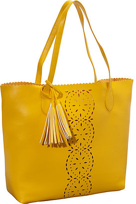 Jesselli Couture Large BUCO Punch Hole Tote