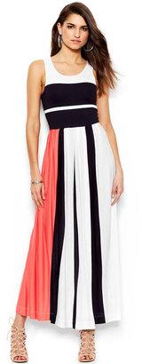 French Connection Medina Sleeveless Colorblock Maxi Dress