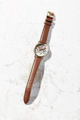 Around The World Leather Watch $34 thestylecure.com