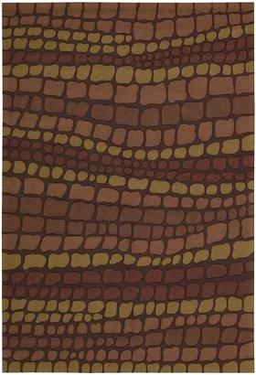 Nourison Fantasy FA02 Multicolored Rectangle Rug, 2.6x4.0