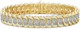 FINE JEWELRY Diamond Bracelet 1/10 CT. T.W. 14K/Silver $333.32 thestylecure.com