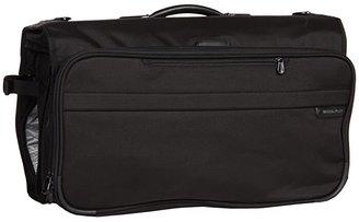 Briggs & Riley Baseline - Compact Garment Bag (Black) Suiter Luggage
