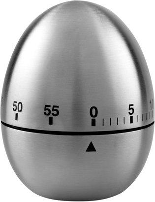 John Lewis & Partners Stainless Steel Kitchen Egg Timer