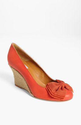 Lanvin Espadrille Wedge Pump