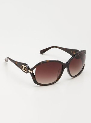Oleg Cassini Ladies Large Square Sunglasses