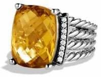 David Yurman Wheaton Ring with Diamonds