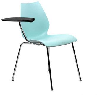 Kartell Maui One Arm Chair Blue Grey