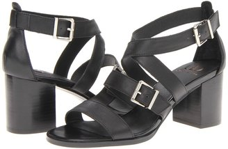 Kelsi Dagger Calico (Black Leather) - Footwear