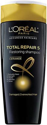 L'Oreal Total Repair 5 Restoring Shampoo $4.99 thestylecure.com