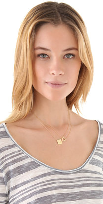Jennifer Zeuner Jewelry Open Heart Necklace