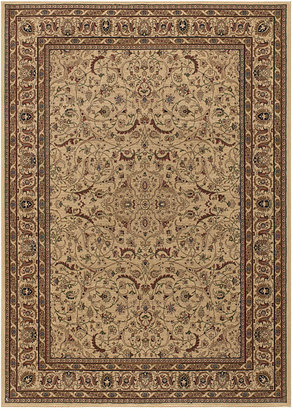 "Couristan MANUFACTURER'S CLOSEOUT! Area Rug, Tolya TOL6801 Cream 2'7"" x 7'10"" Runner Rug"