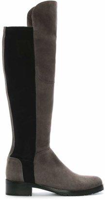 Kennel + Schmenger Kennel & Schmenger Grey Suede 41 24160 Womens Flat Knee Boot