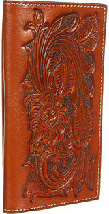 Nocona M&F Western Pro Series Tooled Rodeo Wallet