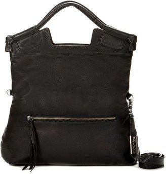 Foley + Corinna Mid City Tote in Black with Nickel Hardware