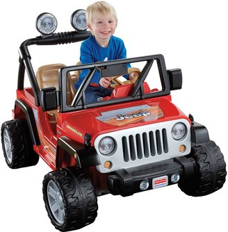 Fisher-Price Power Wheels Ride-On Jeep Wrangler