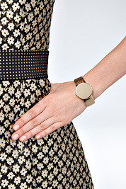 Maison Martin Margiela Gold-Toned Watch Cuff