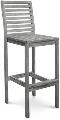Surfside Outdoor Hand-Scraped Hardwood Bar Chair by Havenside Home