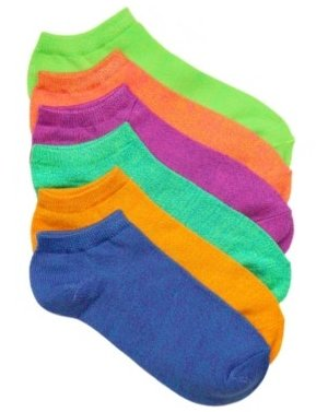 Mix No. 6 Marled Women's No Show Socks - 6 Pack