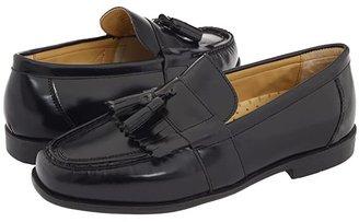 Nunn Bush Keaton Moc Toe Kiltie Tassel Loafer (Black Smooth Leather) Men's Slip-on Dress Shoes