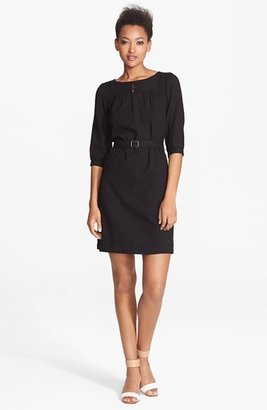 A.P.C. Belted Cotton Dress