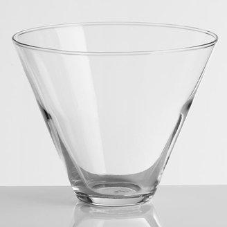 Cost Plus World Market Stemless Martini Glasses, Set of 4
