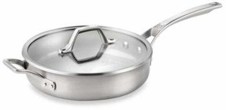 Calphalon AccuCoreTM Stainless Steel 3-Quart Covered Saute Pan