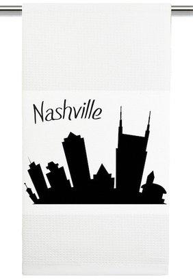 Mariasch Studios Nashville Skyline Kitchen Towel