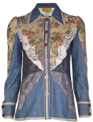 Roberto Cavalli Vintage 1970s shirt jacket