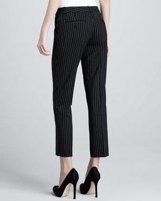 Michael Kors Samantha Pinstripe Pants