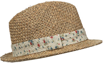 Topshop Antique Ditsy Band Trilby Hat