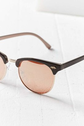 Glasses Frames Urban Outfitters : Urban Outfitters Skylar Half-Frame Sunglasses - ShopStyle
