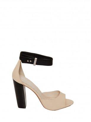 Alice + Olivia Vanessa Colorblock Wood Heel