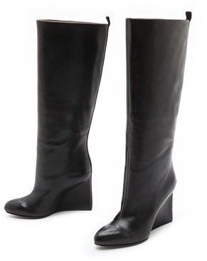 See by Chloe High Wedge Boots