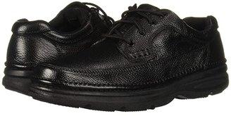 Nunn Bush Cameron Comfort Walking Oxford (Brown Tumbled Leather) Men's Lace Up Moc Toe Shoes