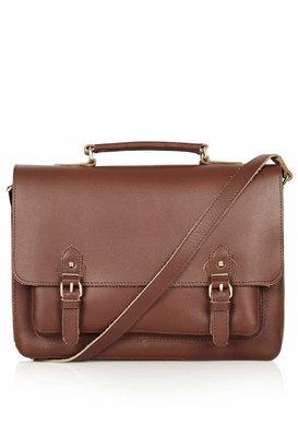 Topshop Classic leather satchel