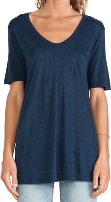 Alexander Wang Classic Tee with Pocket