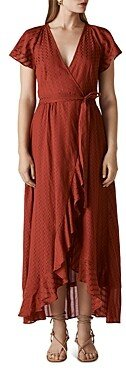 Whistles Nolita Maxi Wrap Dress