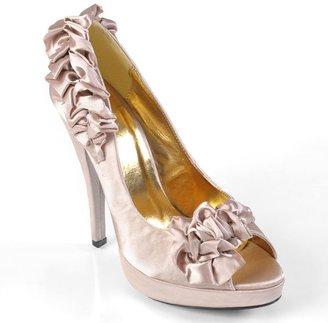 Journee Collection stefan peep-toe high heels - women