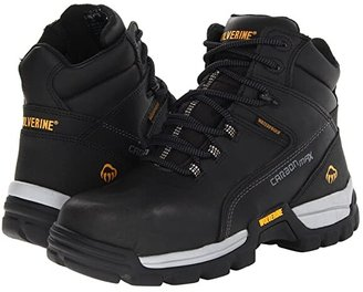 Wolverine Tarmac Comp Toe 6 Boot (Black) Men's Work Boots
