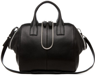 Alexander Wang Jamie Chastity Satchel in Black